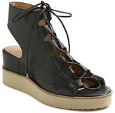 Andre Assous Tamsin Platform Leather Lace-Up Sandals
