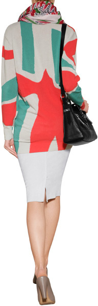Kenzo Cotton Intarsia Knit Pullover
