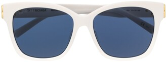 Balenciaga Dynasty square-frame sunglasses