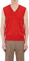 Gucci Men's Embroidered Wool-Cashmere Vest