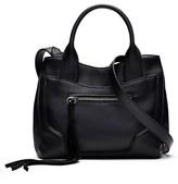 Elizabeth and James Andie Mini Leather Satchel - Black
