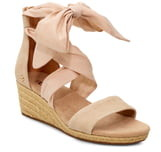 UGG Trina Ribbon Tie Wedge Sandal