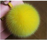 SUNON Valpeak Fox Fur Ball Pom Pom Keychain Womens Bag Purse Charms Fluffy Key Chain