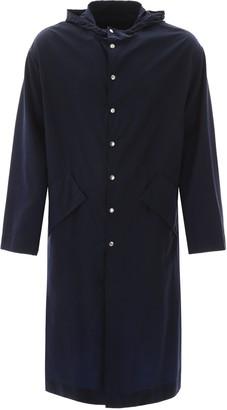 Kenzo Hooded Twill Raincoat