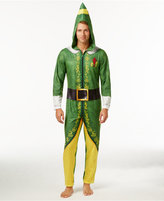 Briefly Stated Men's Buddy the Elf Hooded One-Piece Pajamas
