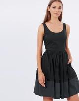 Armani Jeans Sleeveless Ribbon Dress