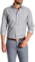 Ganesh Balloon Print Modern Fit Spread Collar Shirt