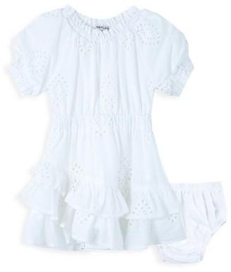 Habitual Baby Girl's 2-Piece Eyelet Dress & Bloomers Set