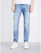 Armani Jeans J20 Slim-leg Straight Jeans