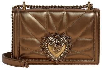 Dolce & Gabbana Medium Leather Devotion Shoulder Bag