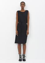Issey Miyake black berry pleats solid dress