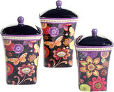 Certified International Coloratura 3-pc. Canister