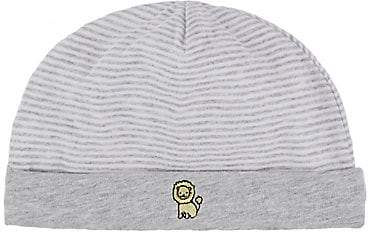 Barneys New York Infants' Striped Hat - Gray