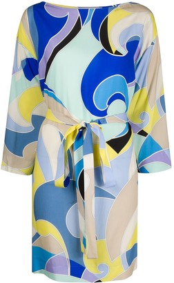 Emilio Pucci Quirimbas-print beach dress