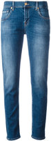 7 For All Mankind light-wash slim-fit jeans