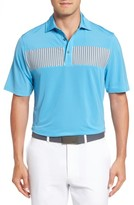 Bobby Jones Men's Xh20 Dempsey Stripe Stretch Golf Polo