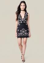 Bebe Lindsey Embroidered Dress