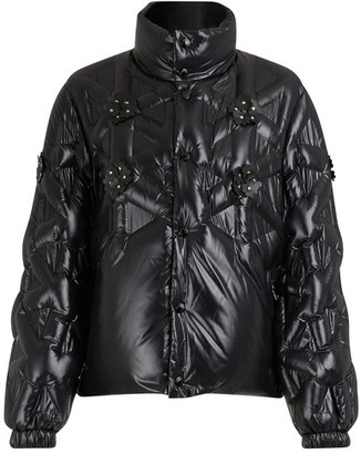 MONCLER GENIUS 6 Moncler Noir Kei Ninomiya Rubellite down jacket