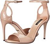 Dolce & Gabbana Patent Sandal Women's Dress Sandals