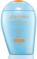 Shiseido Ultimate Sun Protection Lotion WetForce SPF 50+ For Sensitive Skin & Children, 3.3 oz.
