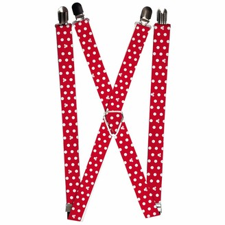 Buckle Down Buckle-Down Men's Suspender-Minnie Mouse