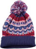Point Zero Women's Knit Pompom Hat