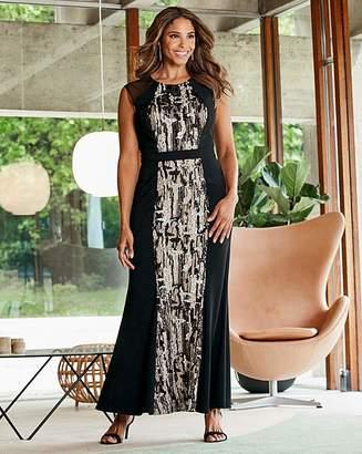 N. Joanna Hope Sequin Fit Flare Dress