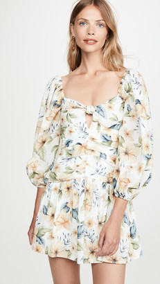 Bec & Bridge Fleurette Mini Dress