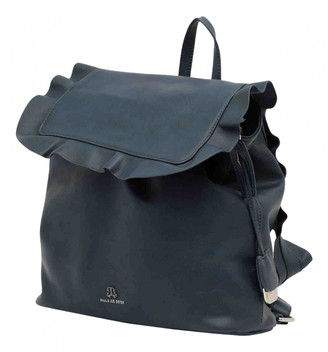 Paul & Joe Sister Blue Synthetic Backpacks