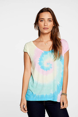 Chaser Vintage Jersey Roll Sleeve Tee Multi L