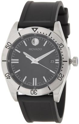 Movado Men's Sport Series Rubber Watch, 41mm