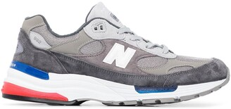 New Balance M992 panelled sneakers