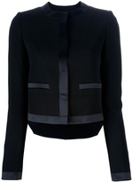 Givenchy silk detail jacket