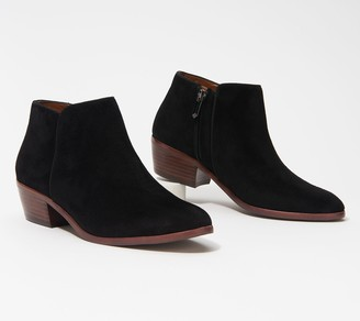 Sam Edelman Suede Booties - Petty
