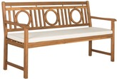 The Well Appointed House Montville 3 Seat Circle Bench in Teak Brown Finish - CURRENTLY ON BACKORDER UNTIL MID FEBRUARY 2017