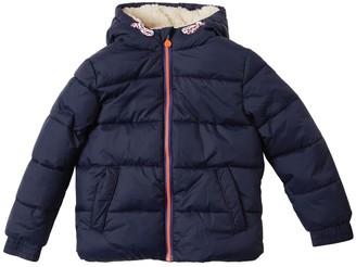 Billybandit Nylon & Faux Shearling Puffer Jacket