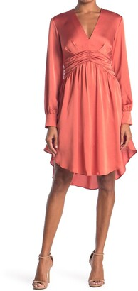 Do & Be Bow Front High/Low Dress