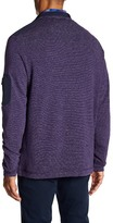 Bugatchi Striped Long Sleeve Knit Pullover