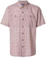 Patagonia plaid straight hem shirt