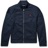 Polo Ralph Lauren Barracuta Cotton-twill Jacket - Midnight blue