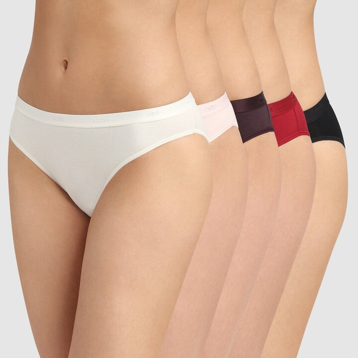 Thumbnail for your product : Dim Pack of 5 EcoDim Les Pockets Knickers