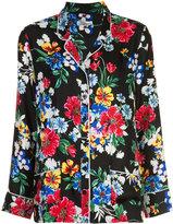 Piamita Floral-print pyjama shirt - women - Silk - M