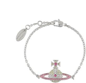 Vivienne Westwood logo charm bracelet