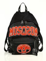 Moschino Embroidered Backpack