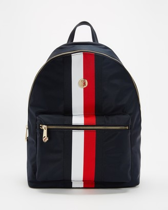 Tommy Hilfiger Women's Blue Backpacks - Poppy Backpack - Size One Size at The Iconic