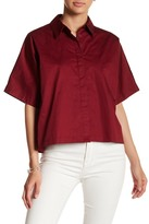 KENDALL + KYLIE Kendall & Kylie Back Lace-Up Shirt