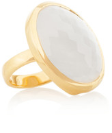 Monica Vinader Gold-plated moonstone ring