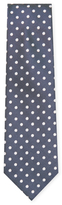 Z Zegna Printed Silk Tie