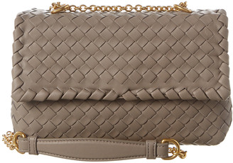 Bottega Veneta Olimpia Baby Intrecciato Leather Shoulder Bag