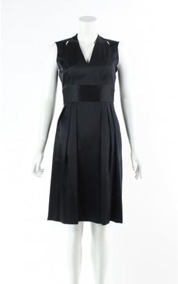 Issa Black Silk Dress for Women